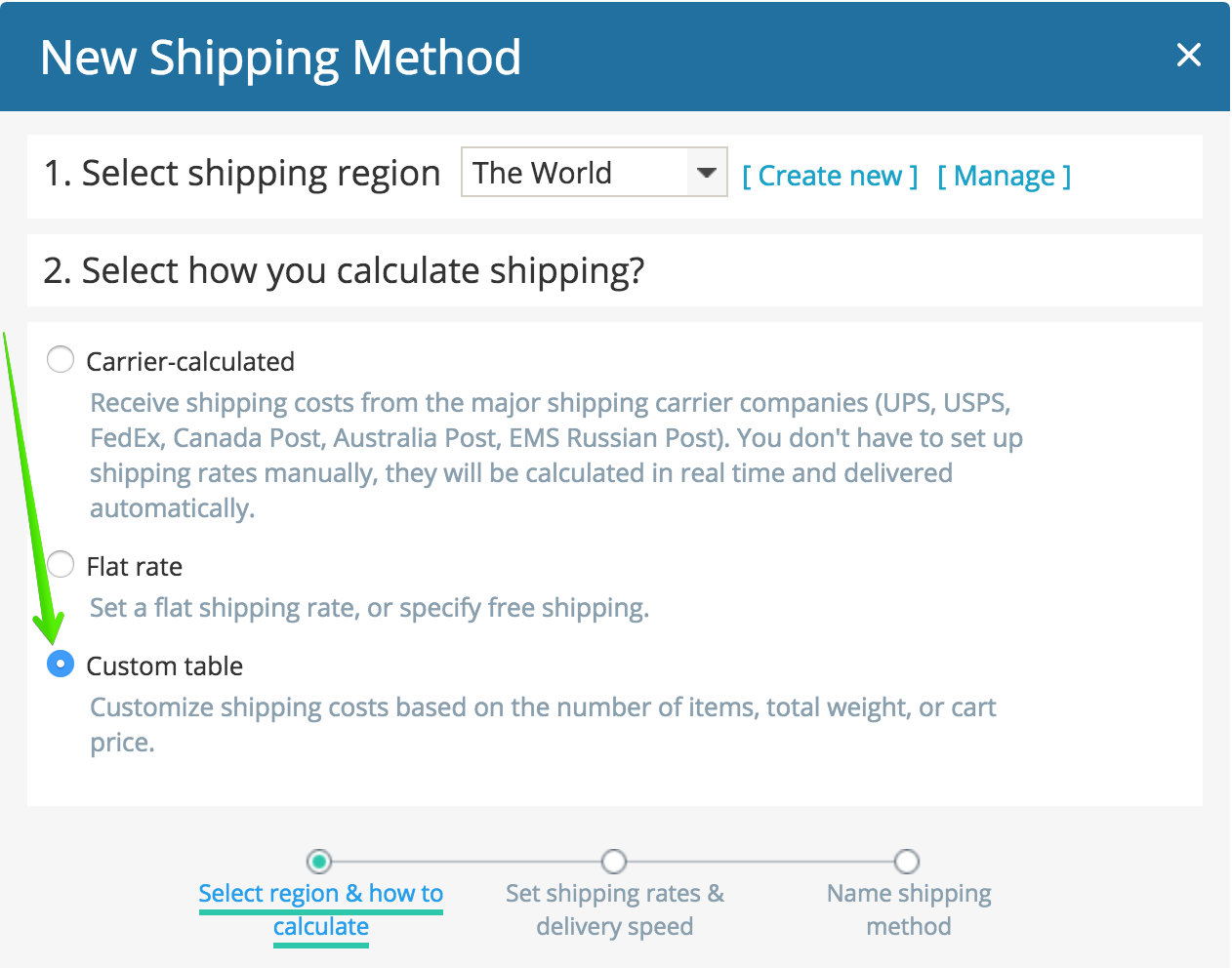 Setting Up Shipping Ecwid Knowledge Base
