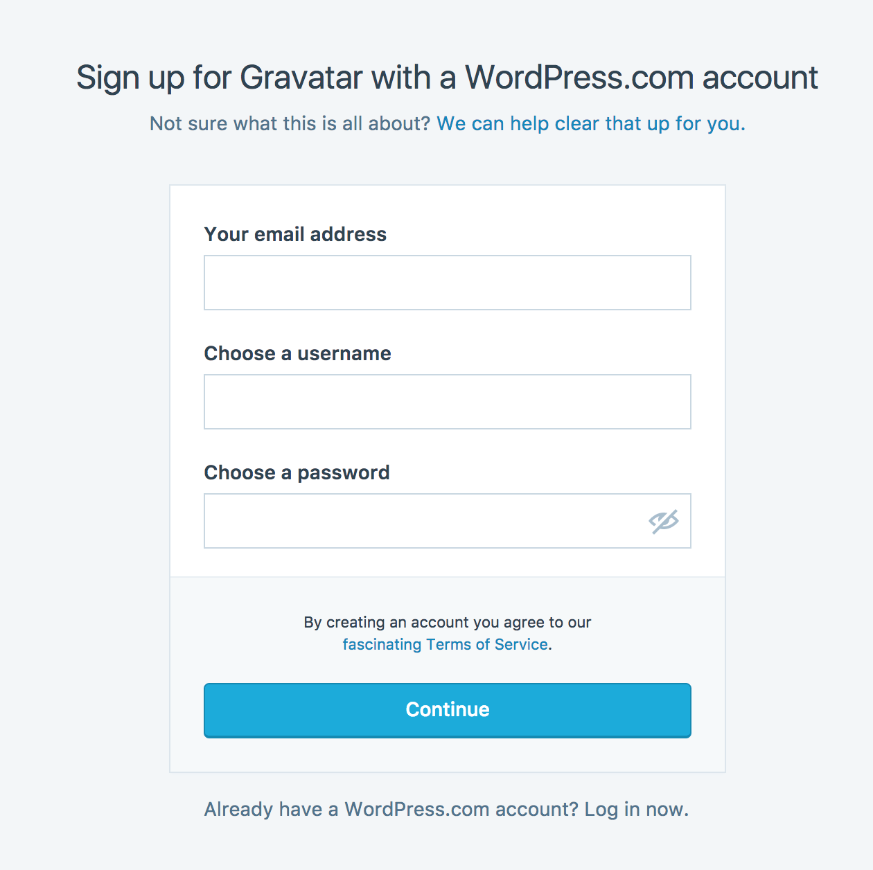 Sign up for Gravatar to add your Ecwid avatar