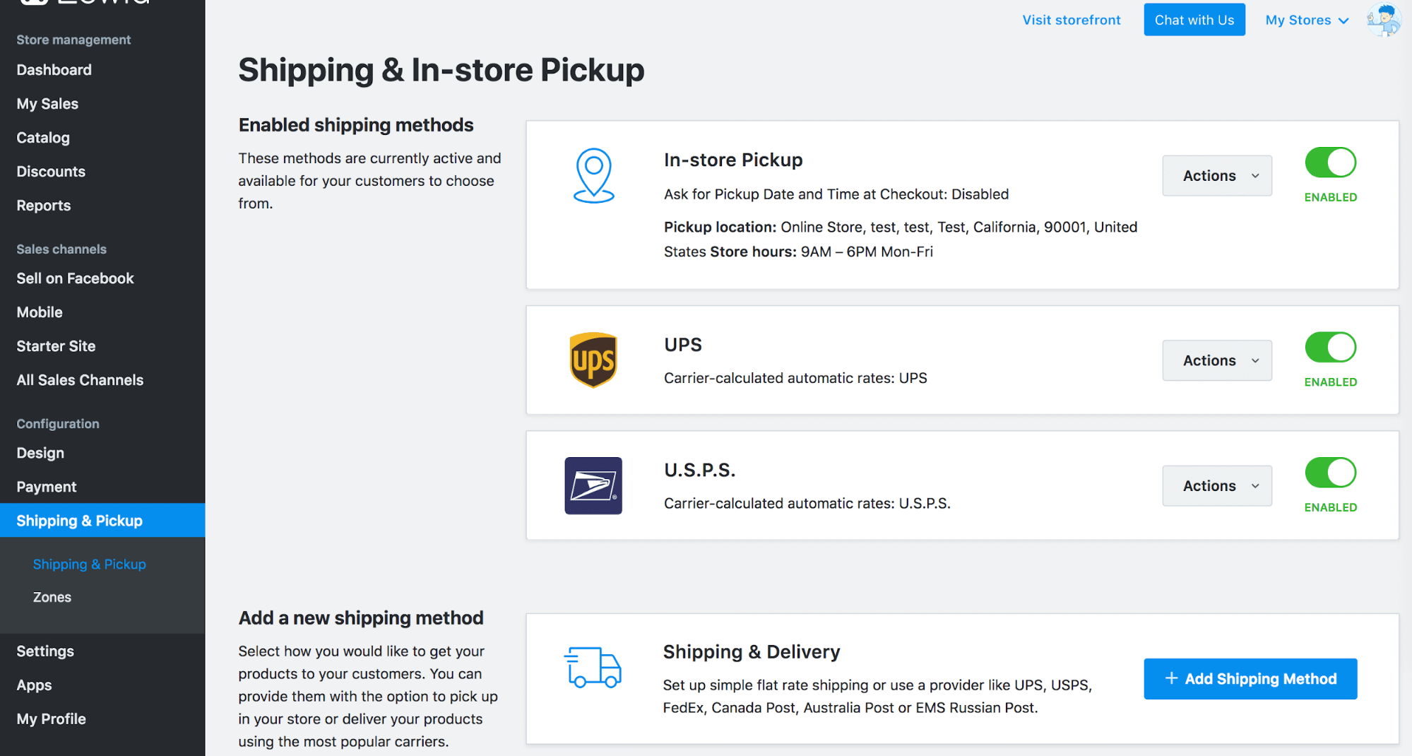 Choosing the right shipping method for your store – Ecwid