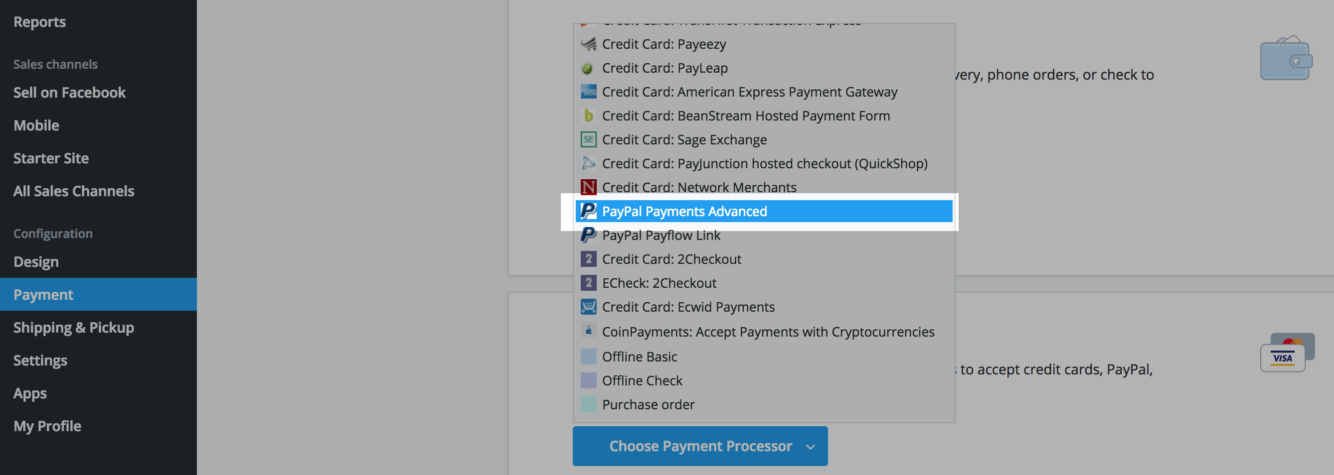 Setting up PayPal – Ecwid Help Center