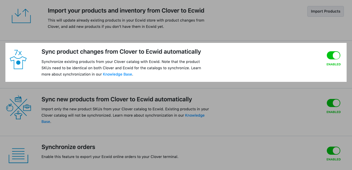 Sync product changes from Clover