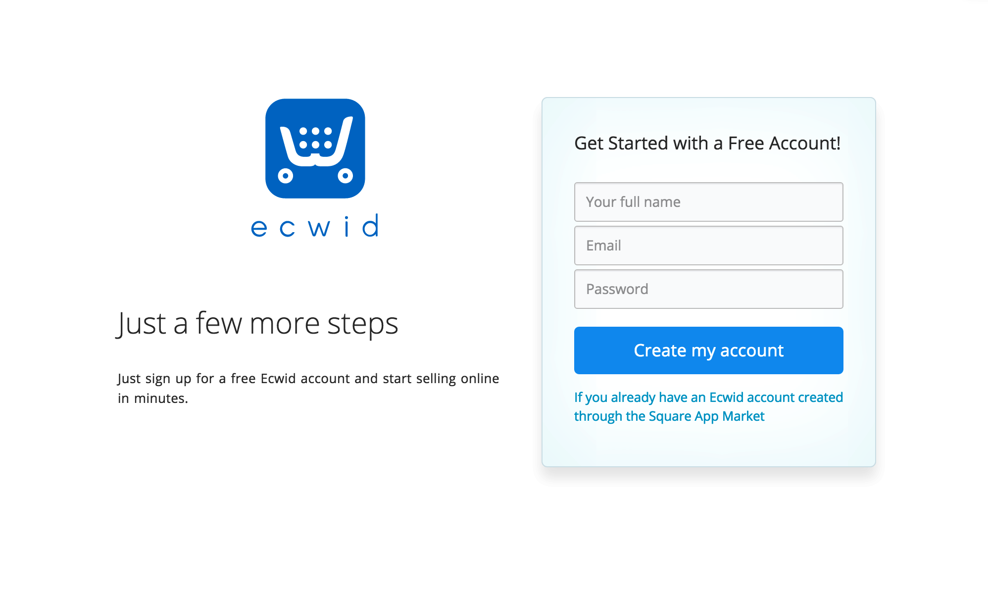 Square POS Ecwid Knowledge Base - What is a square invoice instant online store credit